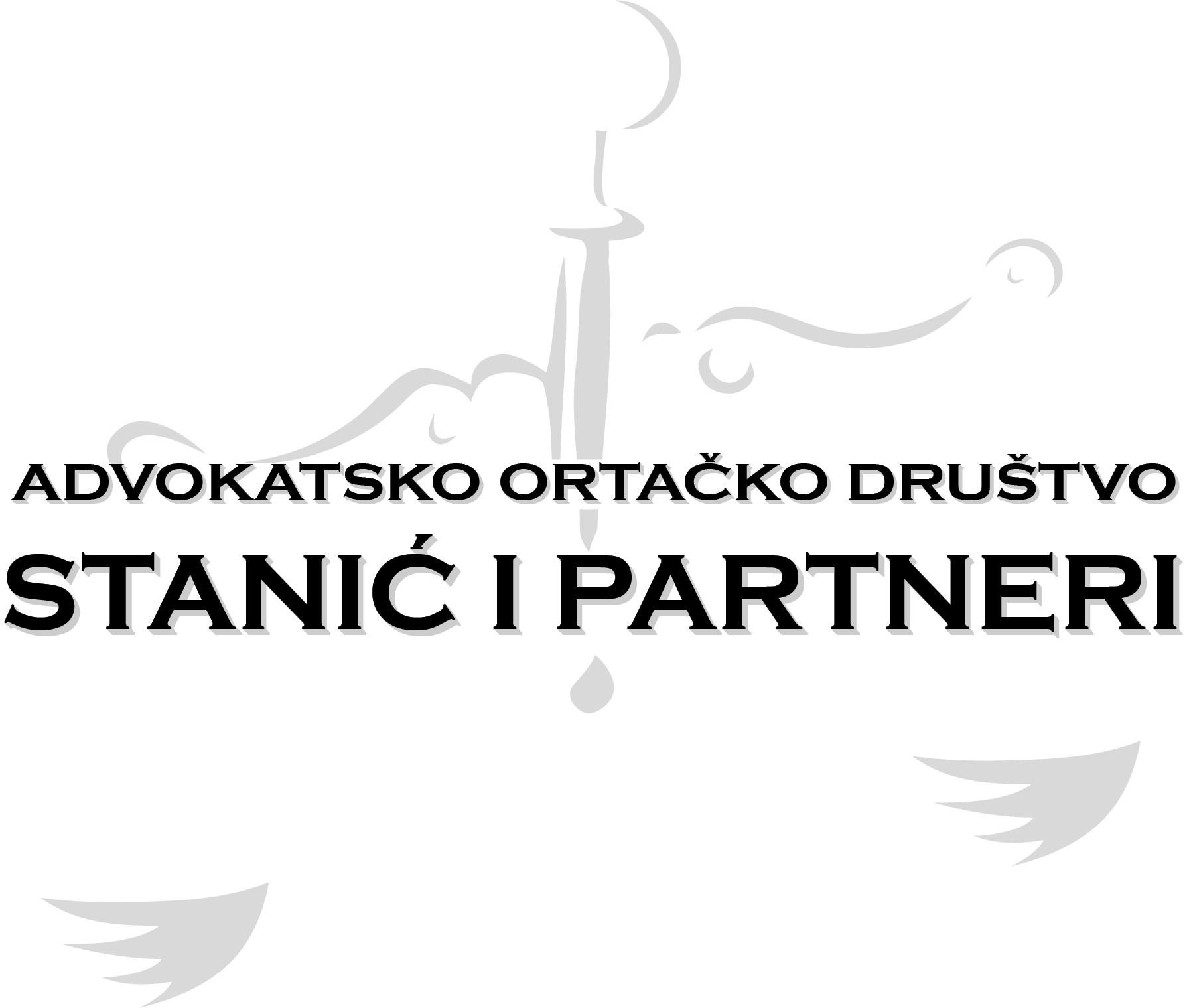 """""""Stanić i Partneri"""" Advokatsko Ortacko Društvo"""